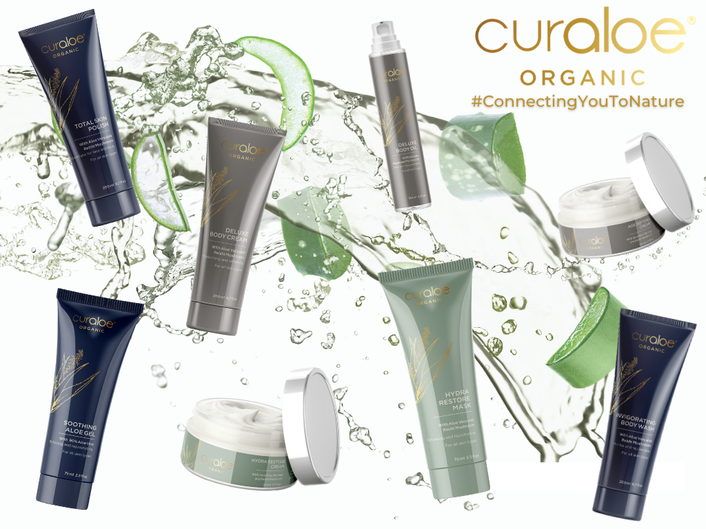 Curaloe skincare products